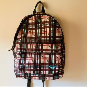 Vintage 2000s NWOT Roxy Striped Backpack